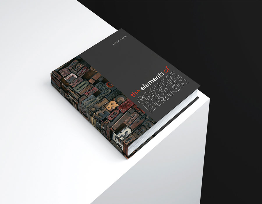 Redesign of the book 'The Elements of Graphic Design' in template