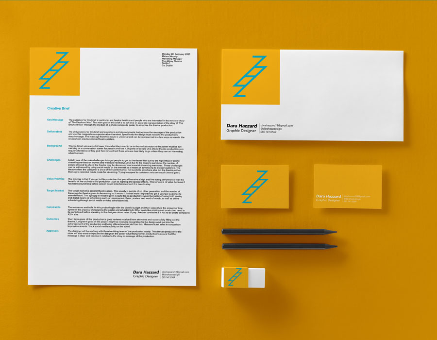 Illustrator, InDesign, Photoshop Logo Design, Layout Design, Typography Personal Brand Identity in template
