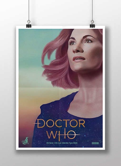 'Doctor Who' Digital Painting Poster