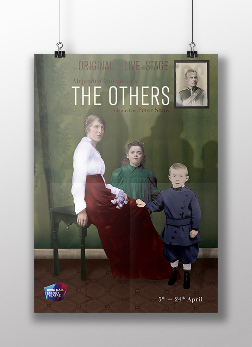 'The Others' Photo Composite Poster traditional CDV